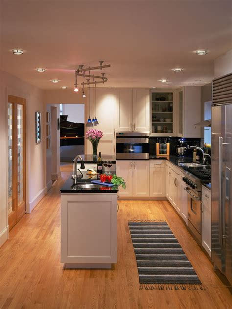 22 stylish narrow kitchen ideas godfather style