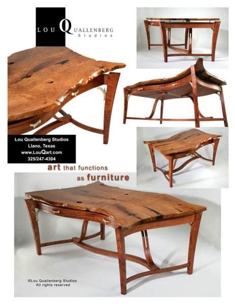 Mesquite Desk by Mesquite Desk By Lou Quallenberg Studios