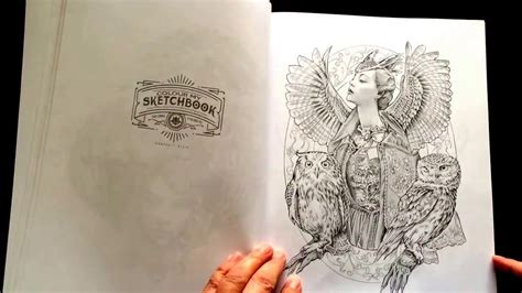 libro colour my sketchbook 5 colour my sketchbook by bennett klein youtube