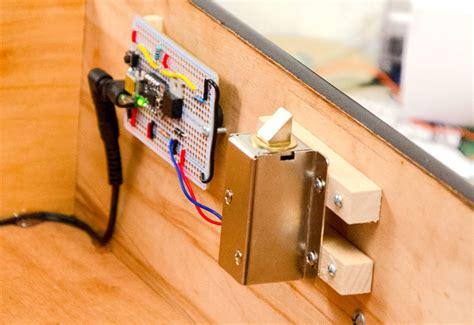 diy hidden drawer lock diy secret knock lock knock knock s there