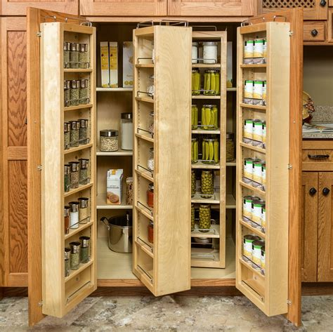 nice Sliding Spice Racks Kitchen Cabinets #8: kitchen-brown-wooden-kitchen-pantry-cabinet-with-brown-wooden-racks-on-brown-wooden-door-also-slide-and-folding-shelf-great-country-kitchen-pantry-cabinet-with-cool-design-for-your-kitchen.jpg