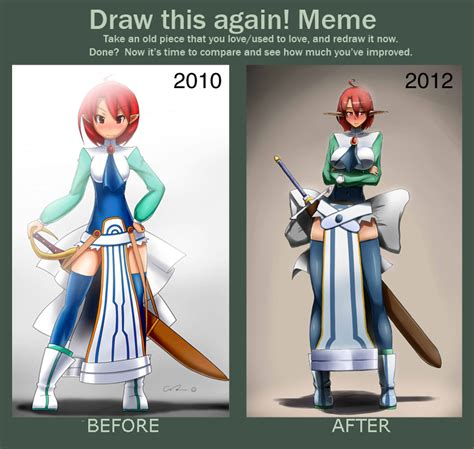 White Knight Meme - meme before and after disgaea magic knight by point23