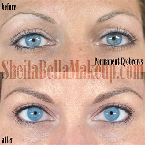 the progress of permanent makeup sheila bella permanent permbrows1 sheila bella permanent makeup and microblading