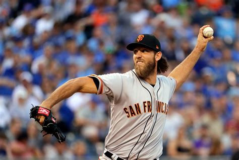 sports madison giants ace madison bumgarner out indefinitely after dirt