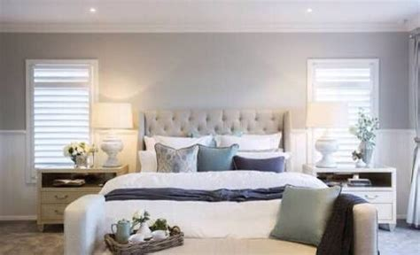 hamptons style master bedroom  images classic