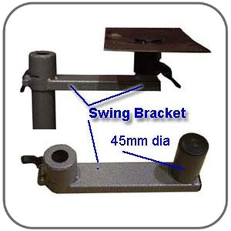 swing away table caravansplus breha swing away table bracket 140mm