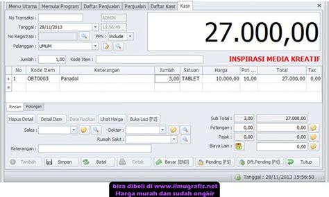 program apotik dan klinik v4 0 original serial number aplikasi bisnis