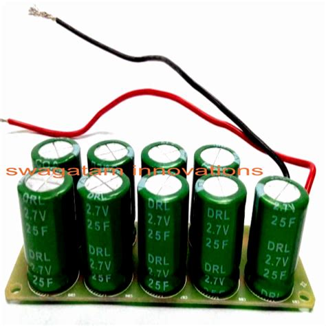 diy capacitor battery capacitor cranked charger circuit