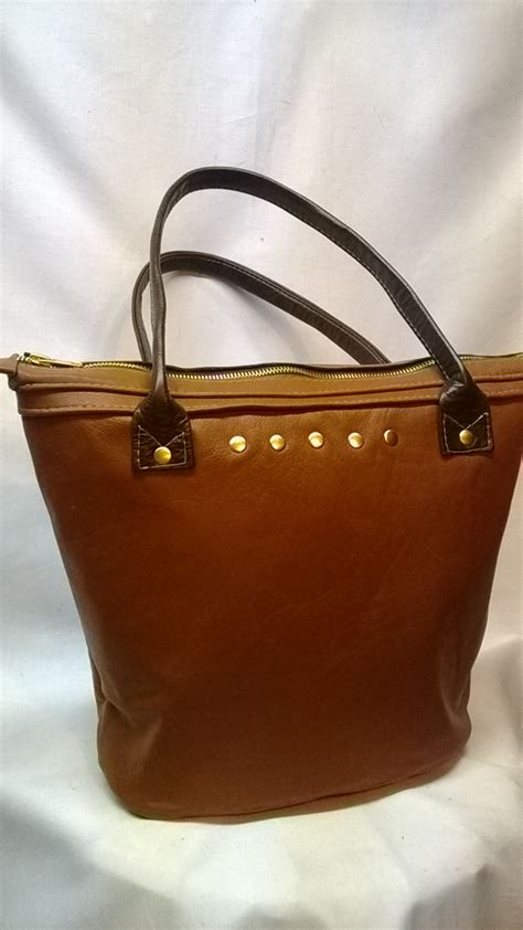 Handcrafted Leather Purses - small leather tote bag designs by belvis handmade leather