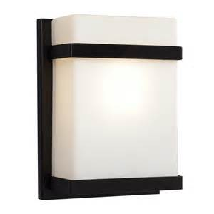 Indoor Wall Sconces 1 Light Outdoor Indoor Wall Sconce Black With Satin