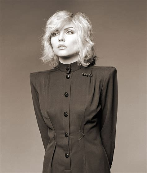 Selves - it s nice that brian aris photographs of debbie harry revel in the blondie star s brilliance
