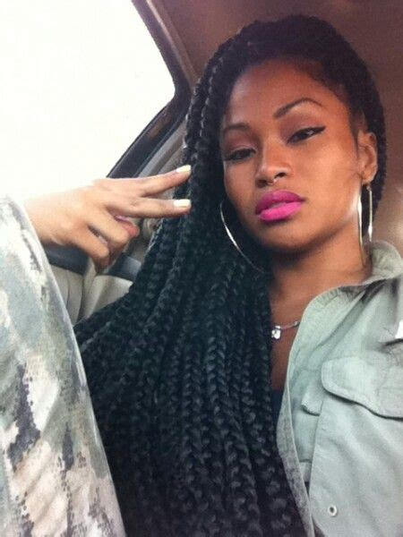 are box braids heavy huge box braids the only problem with these is that they