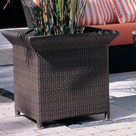 Wicker Outdoor Planters by Wicker Outdoor Planter Outdoor Pots And Planters