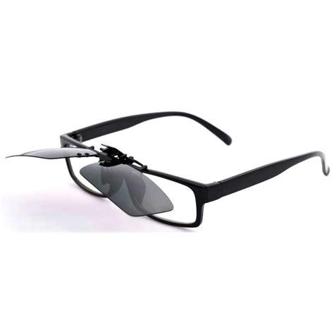 Lensa Kacamata lensa jepit kacamata day vision for driving black