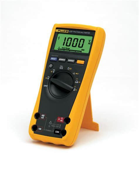 Digital Multimeter Fluke 107 Alat Ukur Digital Merek Merk Fluke 107 jual fluke 177 true rms digital multimeter harga murah