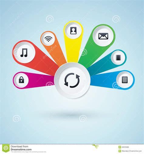 Multimedia Design multimedia design elements royalty free stock photo