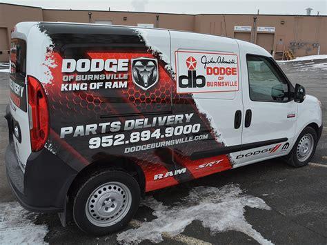 dodge of burnsville parts vehicle graphics vehicle wraps creative color