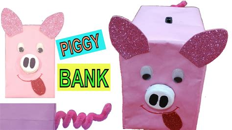 How To Make A Piggy Bank Out Of Paper Mache - how to make piggy bank best out of waste competition in