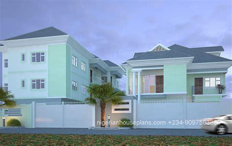 5 bedroom duplex residential homes and public designs 5 bedroom duplex building plan in nigeria