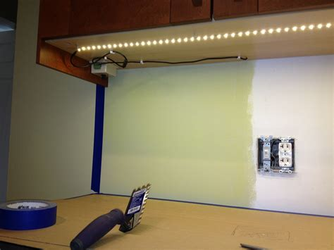 How To Hard Wire Install Under Cabinet Led Lights Savae Org Installing Led Lights Cabinet