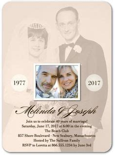 Tiny Prints Wedding Invitations by 1000 Ideas About Anniversary Invitations On