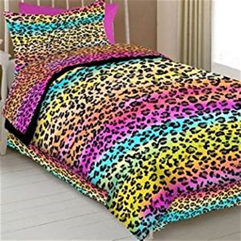 rainbow leopard comforter rainbow leopard colorful twin comforter sheets 6 piece
