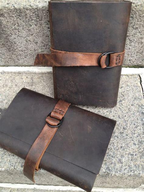 Handmade Leather Bound Journal - handmade leather leather journal and journals on