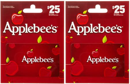 Free Applebees Gift Card - hot 18 75 reg 25 applebee s gift card free shipping