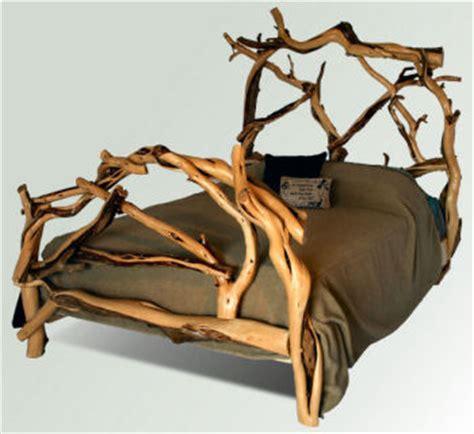 Juniper Wood Bed Frames Juniper Log Bed