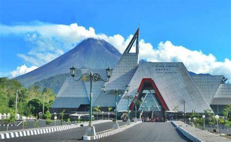 candi borobudur museum merapi wisata lava  merapi