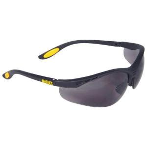 dewalt safety glasses reinforcer with smoke lens dpg58 2c