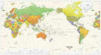 world map image pacific centered pacific centered world wall map maps
