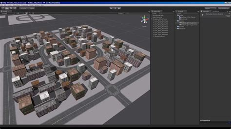 unity custom layout group show built in resources unify 25 best free 3d city models rockthe3d