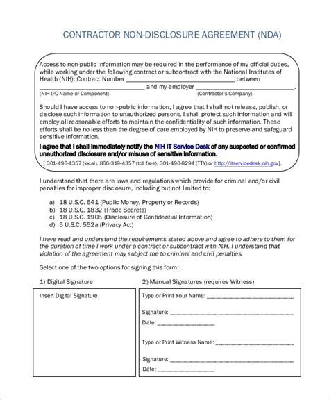 Sle Non Disclosure Agreement Form 8 Free Documents In Doc Pdf Non Disclosure Non Circumvention And Non Competition Agreement Template