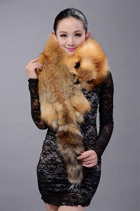 buy wholesale fox fur scarf fashion whole fox fur