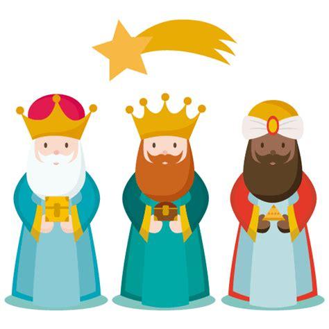 imagenes de los tres reyes magos y sus nombres los 3 reyes magos vector vector clipart