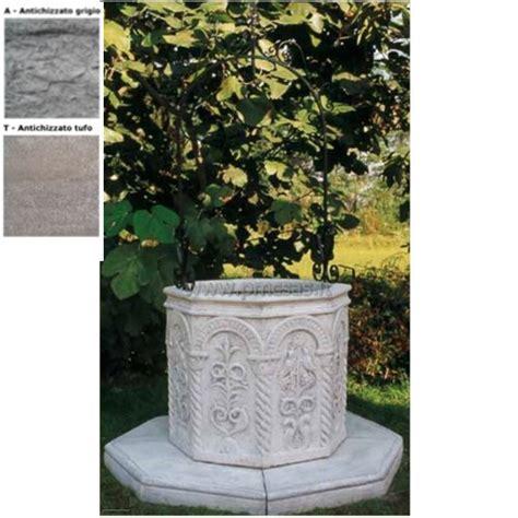 pozzi per giardini pozzi da giardino ottagonale 705 pmc prefabbricati e