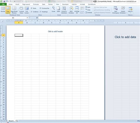 page layout ms excel 2010 how to switch to page layout view in excel 2010 solve