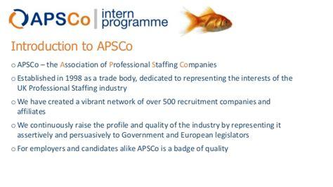 intern programme step apsco summer intern programme 2014