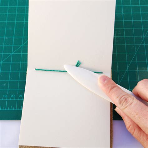 bookbinding fundamentals long stitch leather journal
