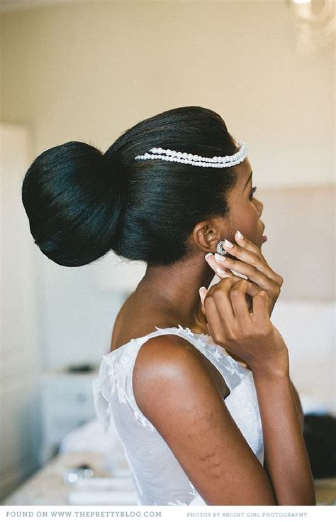premade african american hair buns 17 best images about african american wedding hair on