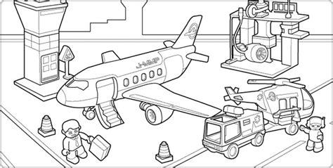 lego airport coloring pages personaggi lego in aeroporto disegni da colorare gratis