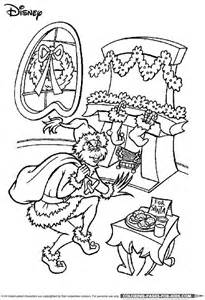 disney christmas coloring page the grinch christmas