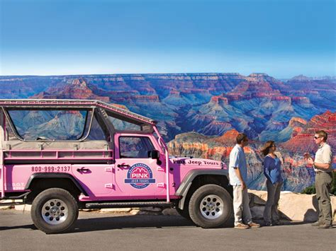 grand pink jeep tours come to arizona for the big leave with an
