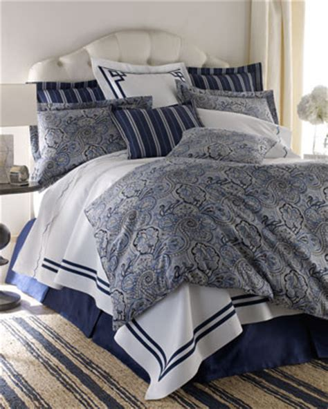 white comforter with blue trim legacy home blue paddock shawl bed linens king white