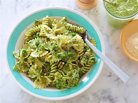barefoot contessa pasta recipes pasta pesto and peas recipe ina garten food network