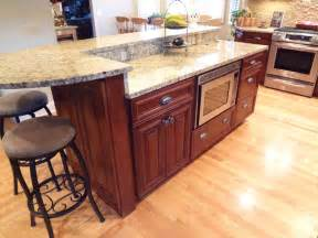Two Kitchen Islands Buffalo Grove Kitchen With 2 Tier Island Traditional