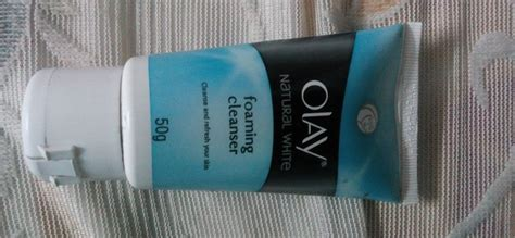 Olay White Foaming Cleanser olay white foaming cleanser reviews makeupera