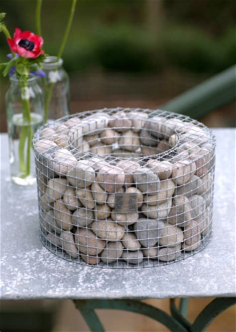Rock Planters How To Make by Miniature Gabion Designed For Holding Top Heavy Indoor