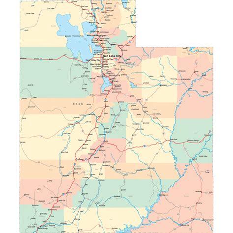 map of utah highways new york map utah interstate map new york map